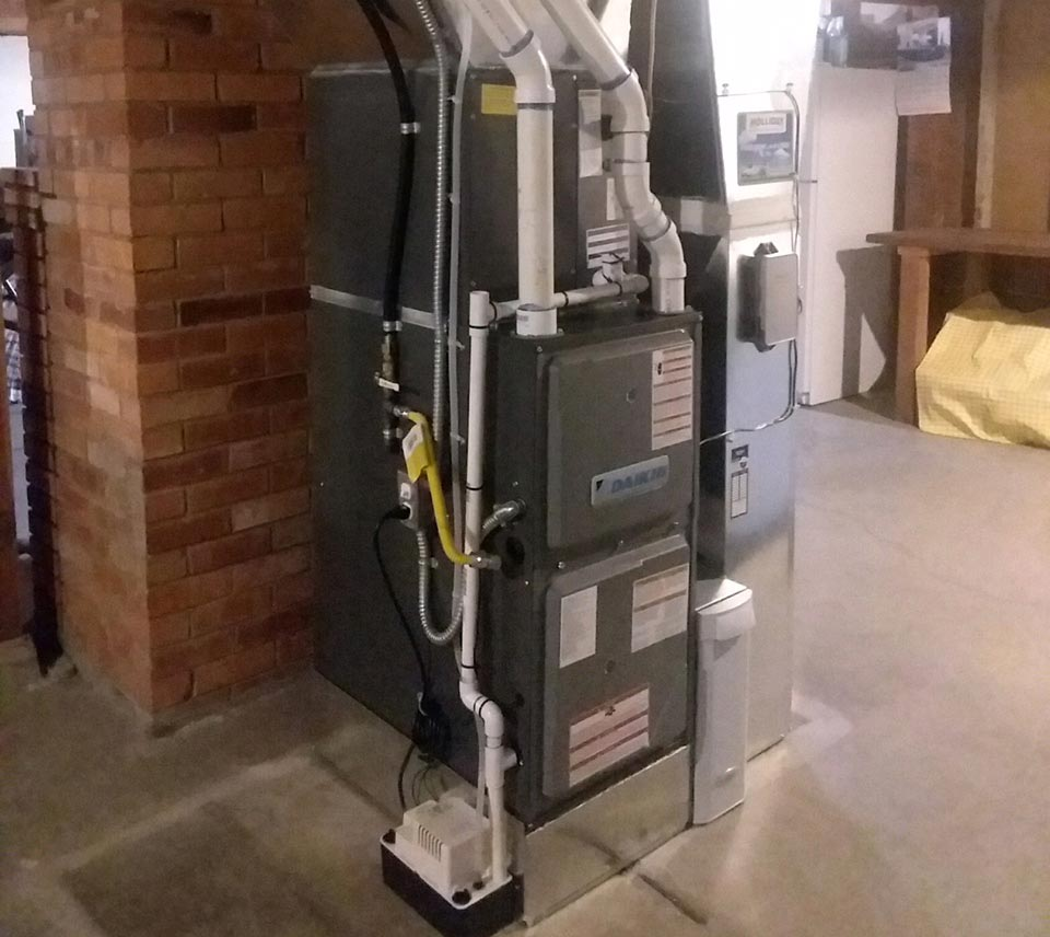 Install of a new 96 percent two stage variable speed gas furnaceJob location Spokane wa 99203